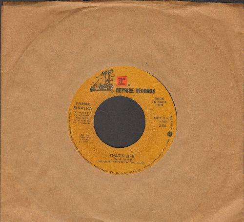 Sinatra, Frank - That's Life/My Kind Of Town (double-hit re-issue) - NM9/ - 45 rpm Records