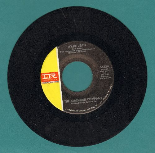 Sunshine Company - Willie Jean//Love Poem - NM9/ - 45 rpm Records