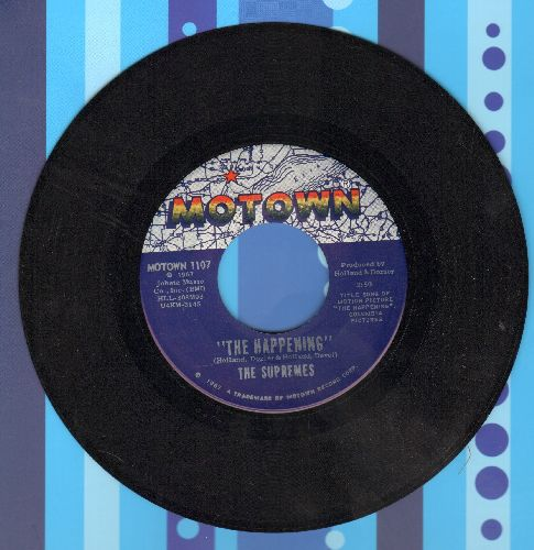 Supremes - The Happening/All I Know About You (MINT condition!) - M10/ - 45 rpm Records