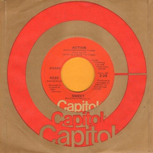 Sweet - Action/Medussa - NM9/ - 45 rpm Records