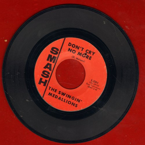 Swingin' Medallions - Don't Cry No More/I Found A Rainbow (bb) - NM9/ - 45 rpm Records