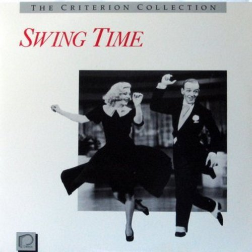 Swing Time - Swing Time - Laser Disc version of the RKO Classic Musical starring Fred Astaire and Ginger Rogers (This is a LASER DISC, NOT ANY OTHER KIND OF MEDIA!) - NM9/NM9 - Laser Discs