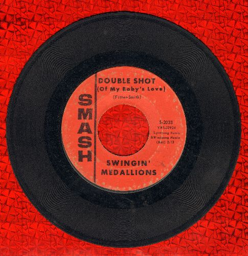 Swingin' Medallions - Double Shot (Of My Baby's Love)/Here It Comes Again - VG7/ - 45 rpm Records