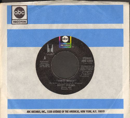 Sweet Dreams - Honey Honey (obscure ABBA-sound-alikes!)/I Surrender (with ABC company sleeve) - NM9/ - 45 rpm Records