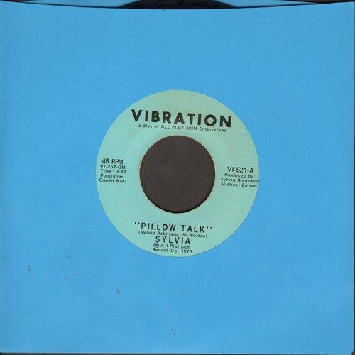 Sylvia - Pillow Talk/My Thing - EX8/ - 45 rpm Records