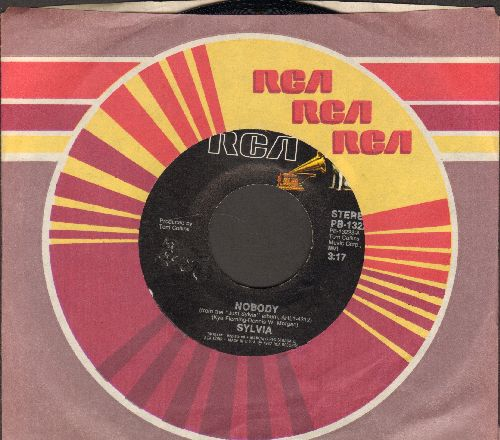 Sylvia - Nobody/I'll Make It Right With You (with RCA company sleeve) - NM9/ - 45 rpm Records