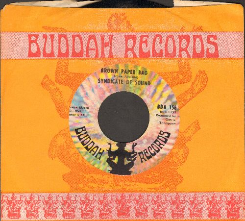 Syndicate Of Sound - Brown Paper Bag/Reverb Beat (with Buddah company sleeve) - NM9/ - 45 rpm Records