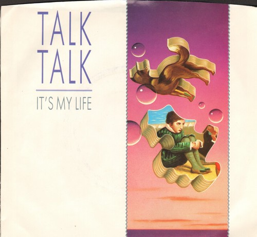 Talk Talk - It's My Life/Again, A Game…Again (with picture sleeve) - M10/EX8 - 45 rpm Records