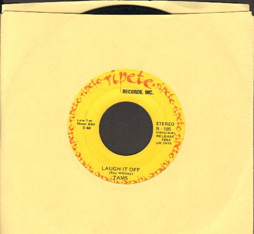 Tams - Laugh It Off/You Lied To Your Daddy (early double-hit re-issue) - EX8/ - 45 rpm Records