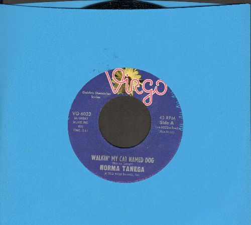 Tanega, Norma - Walkin' My Cat Named Dog/A Street That Rhymes At 6 A.M. (double-hit re-issue) - M10/ - 45 rpm Records