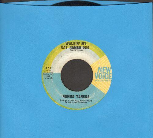 Tanega, Norma - Walkin' My Cat Named Dog/I'm The Sky - EX8/ - 45 rpm Records