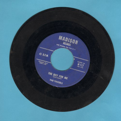 Tassles - The Boy For Me/To A Soldier Boy - VG7/ - 45 rpm Records