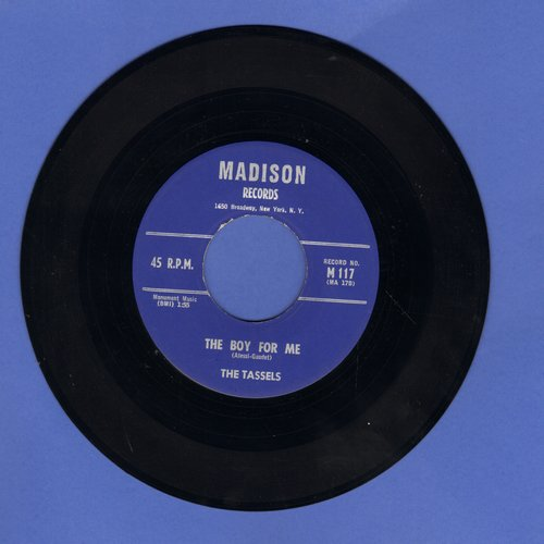 Tassles - The Boy For Me/To A Soldier Boy (MINT condition) - EX8/ - 45 rpm Records