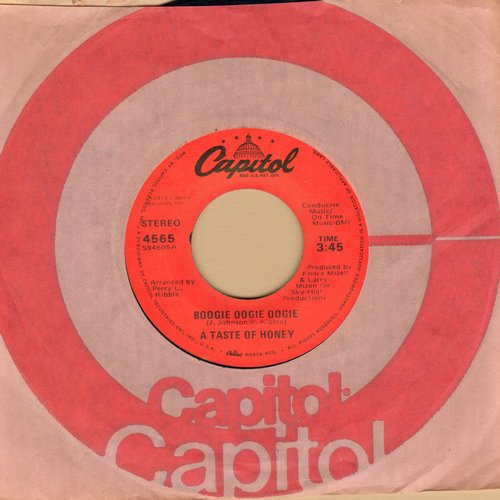 Taste Of Honey - Boogie Oogie Oogie/World Spin (with Capitol company sleeve) - NM9/ - 45 rpm Records