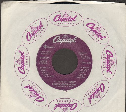 Taste Of Honey - Boogie Oogie Oogie/Rescue Me (double-hit re-issue with Capitol company sleeve) - M10/ - 45 rpm Records
