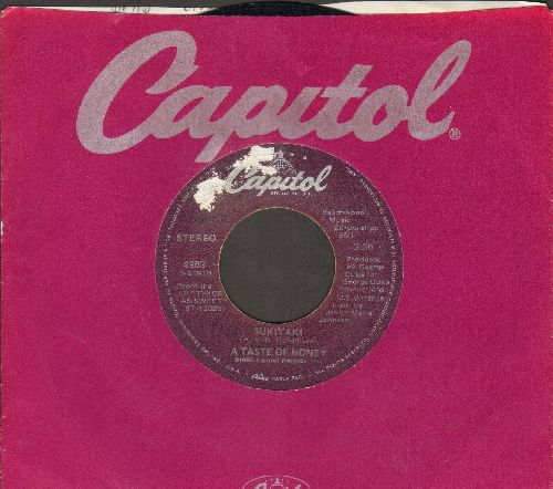 Taste Of Honey - Sukiyaki/Don't You Lead Me On (Grammy Winner 1978 Best New Artist - with Captiol company sleeve) - VG7/ - 45 rpm Records