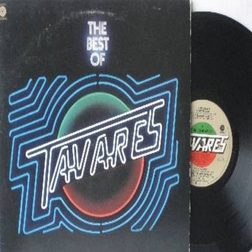 Travares - The Best Of: Heaven Must Be An Angel (6:32 minutes), It Only Takes A Minute, The Love I Never Had, Don't Take Away The Music (6:18), Check It Out (vinyl STEREO LP record) - NM9/EX8 - LP Records