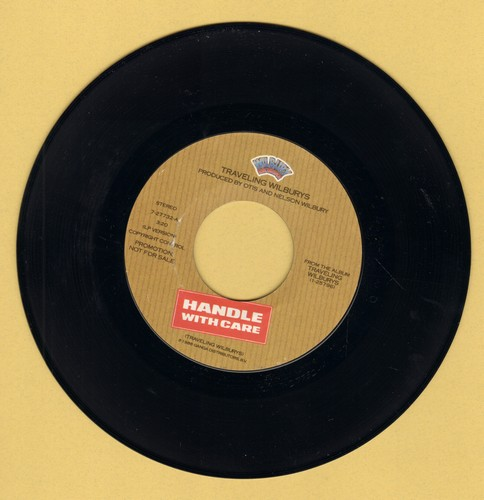 Traveling Wilburys - Handle With Care/Margarita  - EX8/ - 45 rpm Records