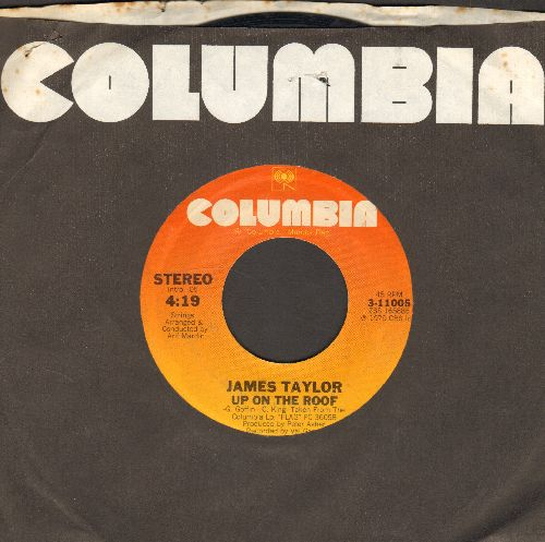 Taylor, James - Up On The Roof/Chanson Francaise  - VG7/ - 45 rpm Records
