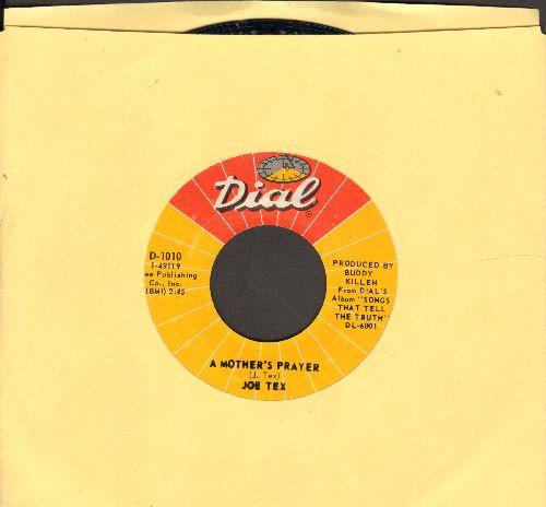 Tex, Joe - A Mother's Prayer/I Gotcha - EX8/ - 45 rpm Records