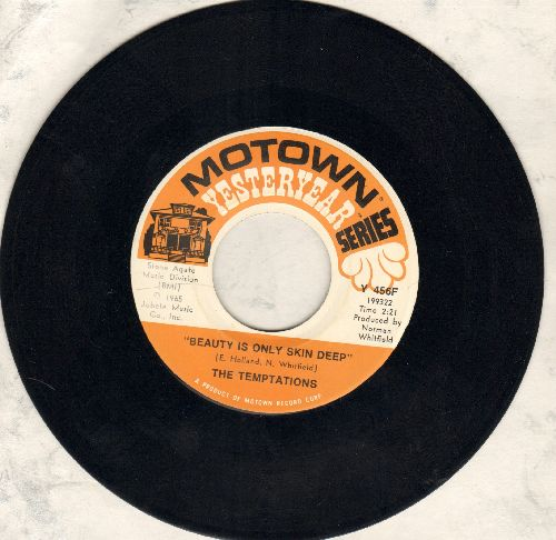 Temptations - Beauty Is Only Skin Deep/(I Know) I'm Losing You (double-hit re-issue) - EX8/ - 45 rpm Records