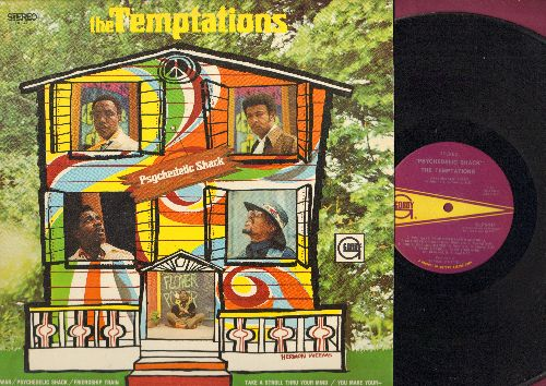Temptations - Psychedelic Shack: WAR, Friendship Train, Hum Along And Dance, It's Summer (vinyl STEREO LP record) - NM9/NM9 - LP Records
