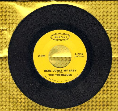 Tremeloes - Here Comes My Baby/Gentleman Of Pleasure  - EX8/ - 45 rpm Records