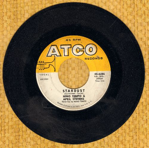 Tempo, Nino & April Stevens - Stardust/1-45  - VG7/ - 45 rpm Records