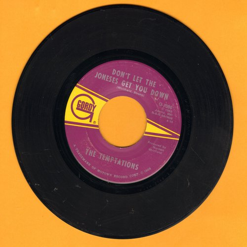 Temptations - Don't Let The Joneses Get You Down/Since I've Lost You (bb) - EX8/ - 45 rpm Records
