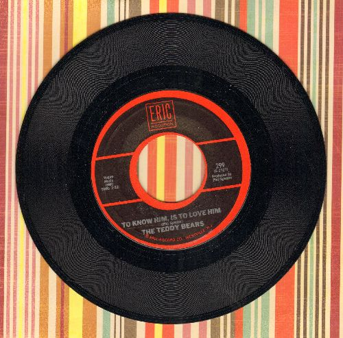 Teddy Bears - To Know Him Is To Love Him/.Mission Bell (by Donnie Brooks on flip-side) - NM9/ - 45 rpm Records