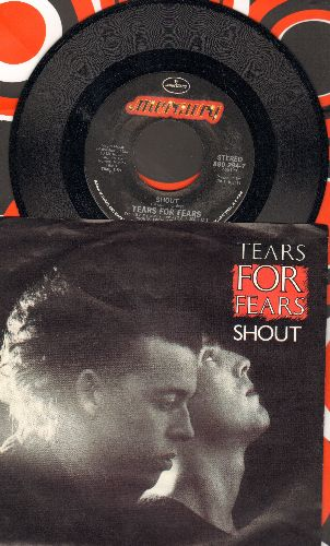 Tears For Fears - Shout/The Big Chair (with picture sleeve) - NM9/NM9 - 45 rpm Records