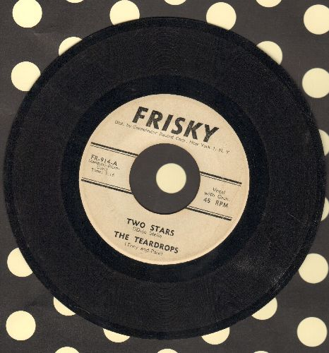 Teardrops - Two Stars/Ol' Man River - VG7/ - 45 rpm Records