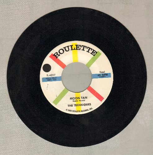 Techniques - Moon Tan/The Wisest Man You Know - NM9/ - 45 rpm Records
