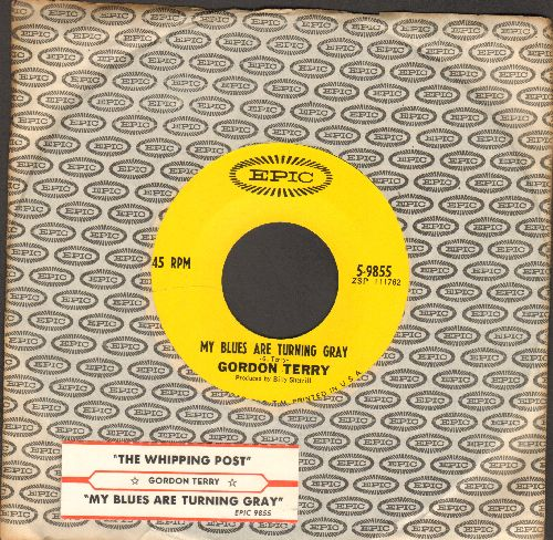 Terry, Gordon - My Blues Are Turning Gray/The Whipping Post (with Epic company sleeve and juke box label) - NM9/ - 45 rpm Records