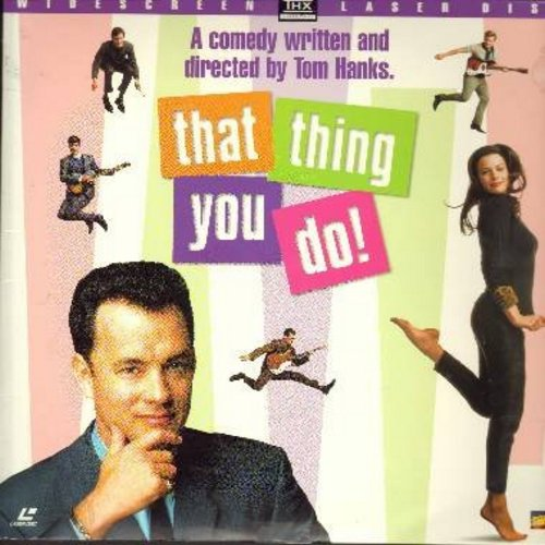 That Thing You Do - That Thing You Do - The 1996 Nostalgic Musical Comedy starring Tom Hanks - THIS IS A LASER DISC, NOT ANY OTHER KIND OF MEDIA! - NM9/EX8 - Laser Discs