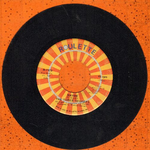 Three Degrees - Maybe/Collage  - EX8/ - 45 rpm Records