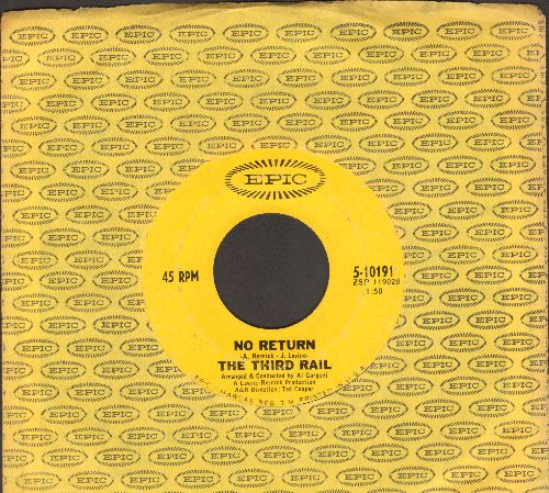 Third Rail - No Return/Run, Run, Run (FANTASTIC Psychedelic Two-Sider!, with Epic company sleeve) - VG7/ - 45 rpm Records
