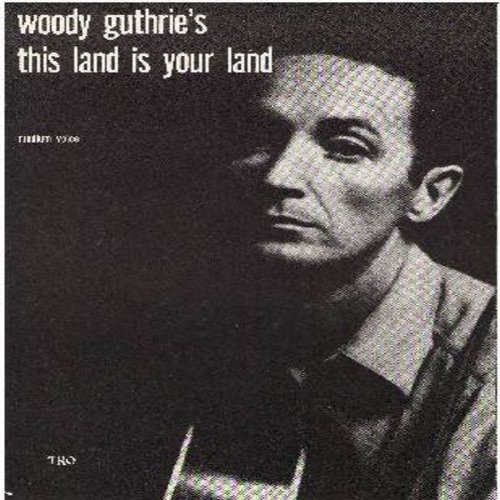 Guthrie, Woody - This Land Is Your Land - SHEET MUSIC for the Woody Guthrie Folk Classic. (THIS IS SHEET MUSIC, NOT ANY OTHER KIND OF MEDIA!) - EX8/ - Sheet Music