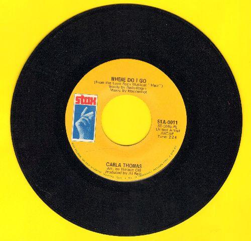 Thomas, Carla - Where Do I Go/I've Fallen In Love - NM9/ - 45 rpm Records