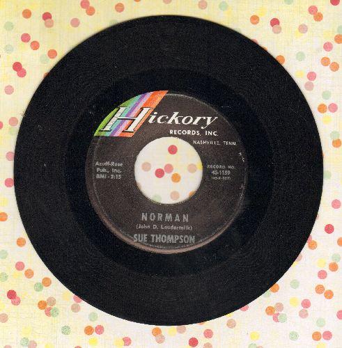 Thompson, Sue - Norman/Never Love Again  - NM9/ - 45 rpm Records
