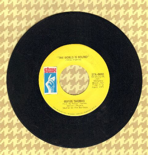Thomas, Rufus - The World Is Round/(I Love You) For Sentimental Reasons - EX8/ - 45 rpm Records