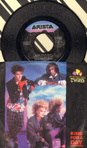 Thompson Twins - King For A Day/Rollunder (with picture sleeve) - NM9/EX8 - 45 rpm Records