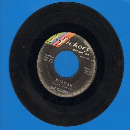 Thompson, Sue - Norman/Never Love Again  - VG7/ - 45 rpm Records