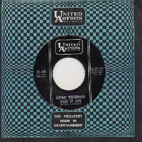 Thomas, Gene - Stand By Love (FANTASTIC TEEN-IDOL SOUND!)/Baby's Gone (with vintage United Artists company sleeve) - NM9/ - 45 rpm Records