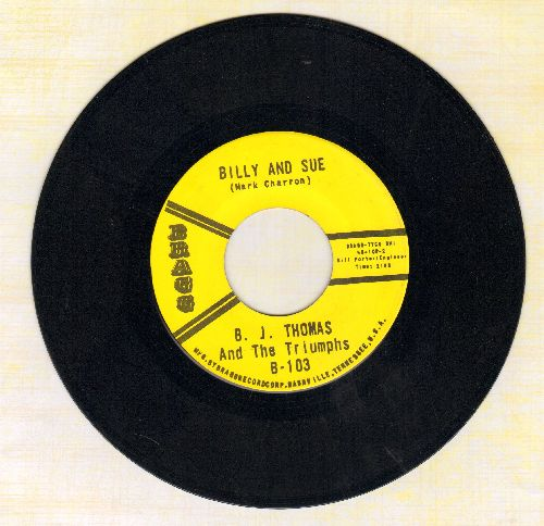 Thomas, B. J. - Billy And Sue/Never Tell (re-issue) - NM9/ - 45 rpm Records