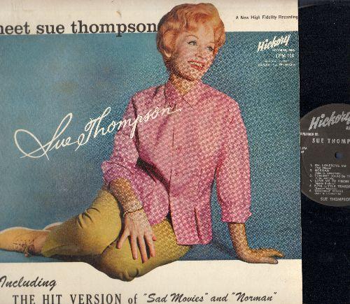 Thompson, Sue - Meet Sue Thompson: Sad Movies, Norman, Oh Lonesome Me, Love Me To Pieces, ('Til) I Kissed You (vinyl MONO LP record) - NM9/NM9 - LP Records