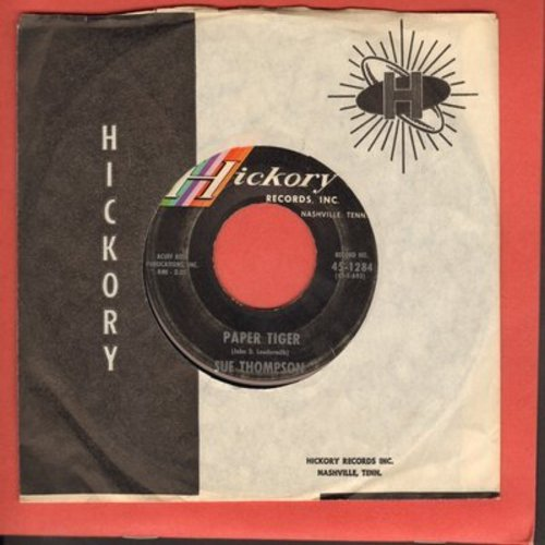 Thompson, Sue - Paper Tiger/Mama, Don't Cry At My Wedding  - EX8/ - 45 rpm Records