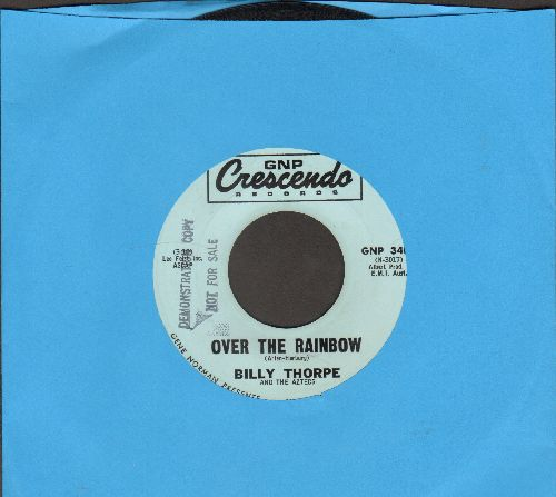 Thorpe, Billy & The Aztecs - Over The Rainbow/That I Love (DJ advance pressing) - EX8/ - 45 rpm Records