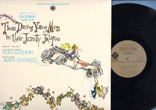 Those Daring Young Men In Their Jaunty Jalopies - Those Daring Young Men In Their Jaunty Jalopies - Original Motion Picture Soundtrack, score composed and conducted by Ron Goodwin, title song by Jimmy Durante (vinyl STEREO LP record) - NM9/NM9 - LP Record