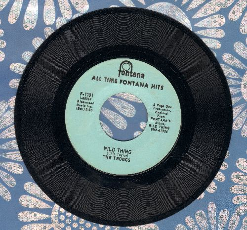 Troggs - Wild Thing (Presley)/With A Girl Like You (re-issue) - EX8/ - 45 rpm Records